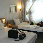 Zimmer mit 2 Erw. und 1 K.