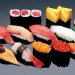 Different varities of sushi