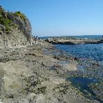 Rockpools at the 'back' of the island walk