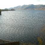 Osoyoos lake looking to border with WA