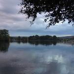 Lake Hamilton at dusk
