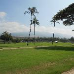 Golf course next to the hotel.