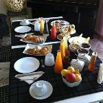 fabulous breakfast at casa Di EL