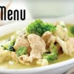 "the famous green curry, dish no. ""301"""