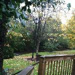 View from Deck Looking to the right....stream