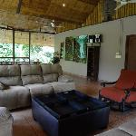 Upper Lounge Area overlooking the River
