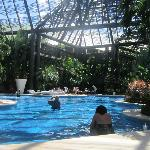 We loved this area of the pool