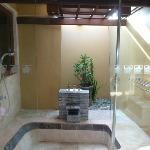 bañera-ducha exterior