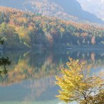 Bohinj colorful reflection