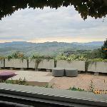 panorama dalla sala ristorante