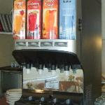 Continental Breakfast in the OF Lodge - Juice Selection