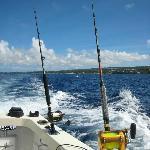 Multi-tasking in Barbados ;-)
