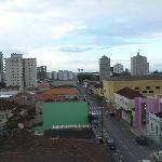 vista do hotel, do segundo andar