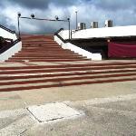 Área en donde realizan el show