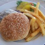 room service burger