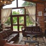 Lodge reception area