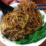 my favourite noodles with minced meat