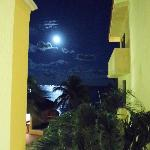 Moonlight over the Carribean Sea