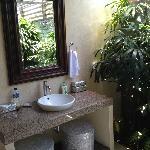 Outdoor Bathroom Area of Bedroom