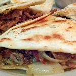 Pit Beef Quesadilla