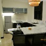 Kitchen in the Spa Suite