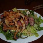 crispy steak salad