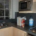 Kitchen in our 2nd 1 bd apartment....everything we could need