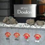 Hotel Front sign