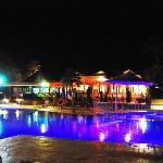 The pool at night...I swam any time of night. Had a swim at 3am one night, brilliant!