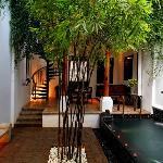 Private Pool Villa Courtyard