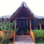 il nostro bungalow/veranda