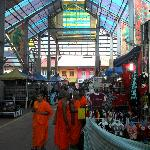 Market outside front lobby