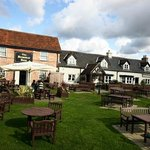 The garden area at The Bumble Bee, Kingsway / Quedgeley, Gloucester.