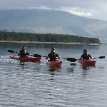 Kayaking on Blessington Lake
