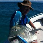 A solid port Douglas Giant Trevally