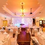 Our Function Room Set up for Weddings