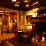 One of the rooms within Stretton Fox pub