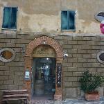 Shop & accommodation entrance