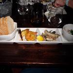 Köstliche Vorspeisenkombination (Bild stammt von einem weiteren Besuch im Nov 2012)