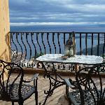 vista de la terraza de la habitacion