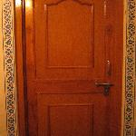 Room Door (you can put your own lock when you are out)