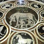pavimento simbolo di Siena