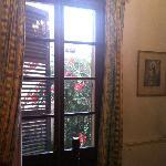 balcon dans la chambre
