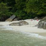 Enjoy your own private beach for a day