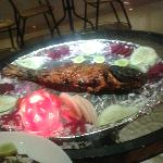 Another picture of the mouth watering Fish Tandoori