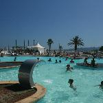 piscine (sur la plage)