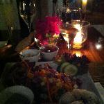 Cebiche de Atún ...uf!!! el mejor plato de la isla