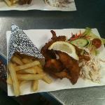 Chefs battered fish goujons