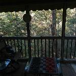 Veiw from  screened in porch