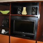 TV and entertainment area